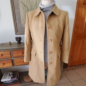 Victorias Secret Moda International Camel Coat 4P
